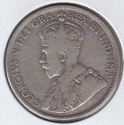 1932 Canada Fifty Cents - Key Date