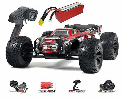 Arrma Kraton 6s BLX 4WD Electric Monstertruck rot RTR 1:8 & 4s 5200mah