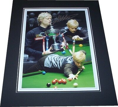 Neil Robertson - Snooker Signed Montage Photo Mounted