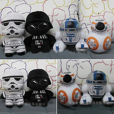 1pc Star Wars Soft Stuffed Toy Plush Doll 8'' R2-D2/BB-8/Darth Vader Collection