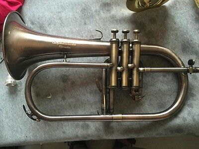 Andalucia Xpresion Series Flugelhorn with Bronze Bell in Antique Finish