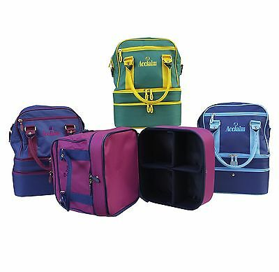 ACCLAIM Blyth Mini Triple Decker Mens Ladies Three Tier Bowling Bowls Bag