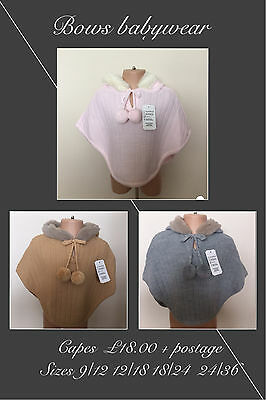 Girls Spanish Knitted capes