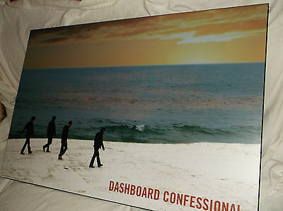 Dashboard Confessional Wood/wooden Rock Band Poster 24X36 Promo/display