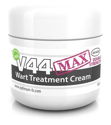 V44 MAX Double Strength Wart Repair Fast Treatment Remover Removal Cream - 50g