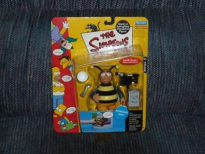 THE SIMPSONS - Bumblebee Man - Playmates Toys Action Figure - MOC - Brand New