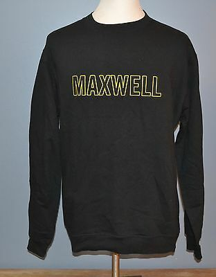 Maxwell Sweatshirt Pullover Soul R&B Funk Jazz Music Band Tour Concert L Large