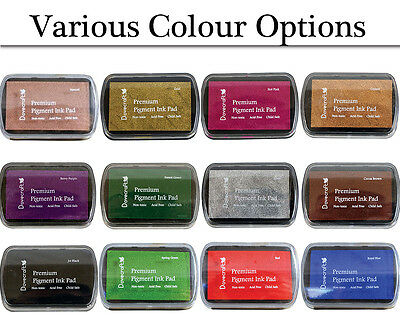 Premium Pigment Ink Pad for Papercrafts - Choice of Colours