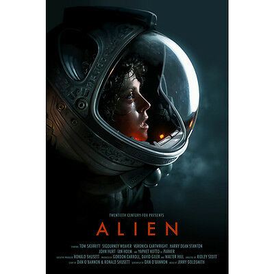 Alien Movie Art Silk Poster Print 12x18 24x36 inch Pictures for Room Decor