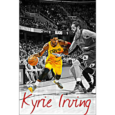 Kyrie Irving Basketball Silk Poster 12x18 24x36 inch Picture for Room Decor