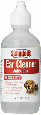 Sulfodene Brand Ear Cleaner Antiseptic for Dogs & Cats 4 {3003854} AOI NEW