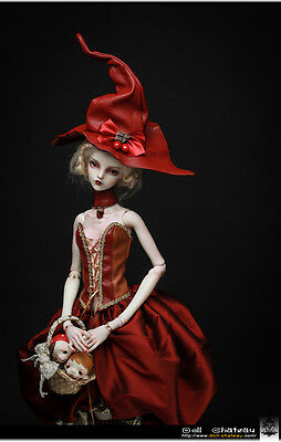 """Margarita """"red witch"""" Doll Chateau 60cm 1/3 size girl SD13 bjd"""