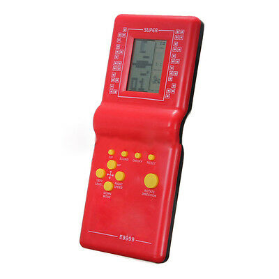 Tetris Game Hand Held LCD Electronic Game Toys Brick Classic Retro Games Gift CT