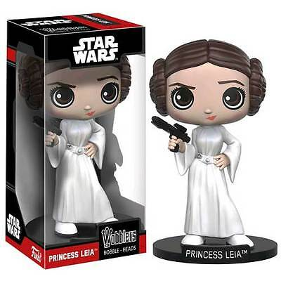 Star Wars - Princess Leia Wobbler Bobble-Head Figure NEW Funko Carrie Fisher