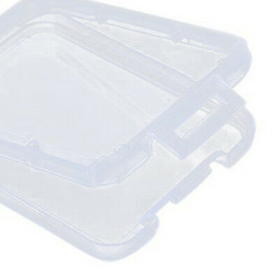 2x(10pcs Memory Card Plastic Clear Holder Box Storage Case CT