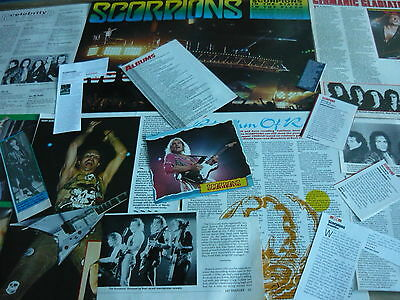 Scorpions - Magazine Cuttings Collection (Ref 1)