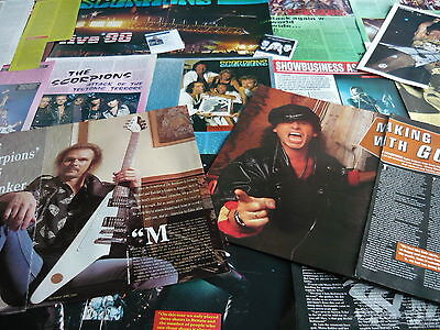Scorpions - Magazine Cuttings Collection (Ref T4)