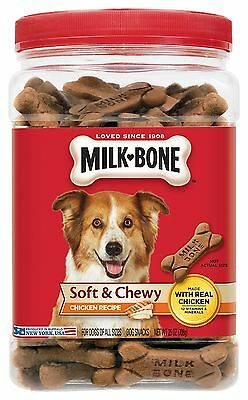Milk-Bone Soft & Chewy Dog Treats (Cookies,Biscuits & Snacks)[902120-PARENT] AOI
