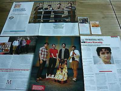 Vampire Weekend - Magazine Cuttings Collection (Ref Sc)