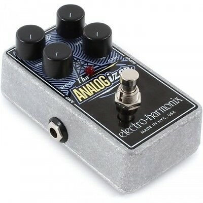 Electro Harmonix Analogizer, Analogue Saturation and Boost Stompbox