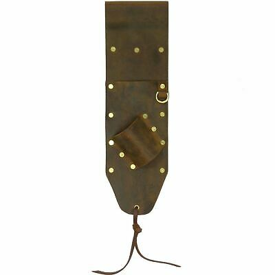 High Quality Brown Leather Sheath for PinPointer and Digging Tool Left Sided