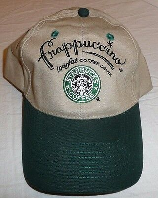 397d793ef0f Starbucks Coffee Hat   Baseball Cap - Frappuccino One Size Fits All - NEW