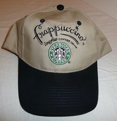 Starbucks Coffee Hat / Baseball Cap - Frappuccino One Size Fits All --- New