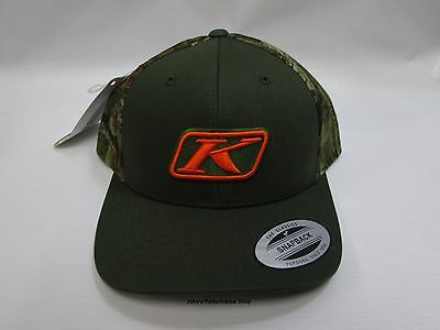 Klim Camo Snap Back Adjustable Baseball Hat Cap  3140-001-000-300