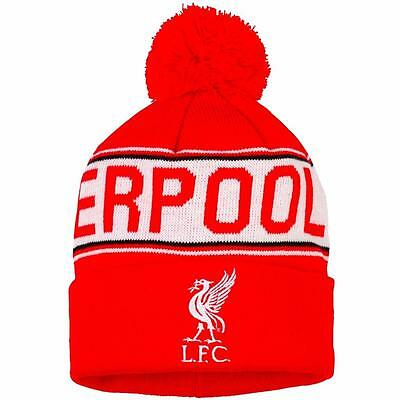 Bnwt Liverpool Fc Core Bobble Beanie Adult Official Football Club Merchandise