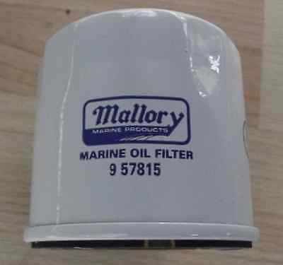 Mallory Marine Oil Filter 9-57815, SUZ 5033919, 16510-92J00 Johnson Evinrude