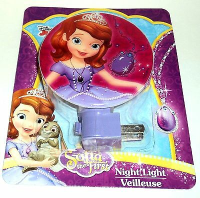 DISNEY Sofia The First Night Light NIP #104