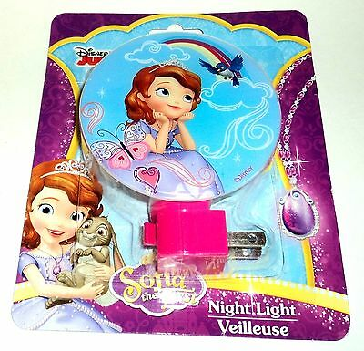 DISNEY Sofia The First Night Light NIP #105
