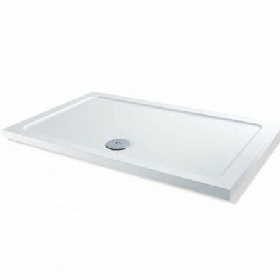 Euro Shower Tray; 1650mm x 800mm x 40mm Low Profile Flat top