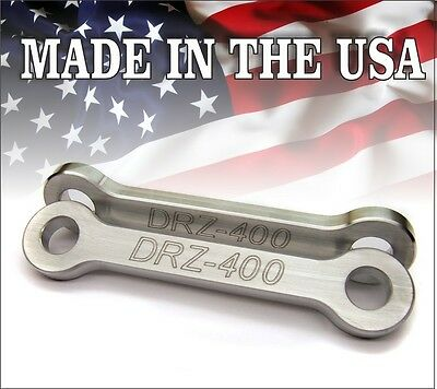 "2000-2018 Suzuki DRZ 400 Models 2"" Inch Lowering Links Link Kit E / S SM"