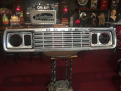"1970's DODGE TRUCK Grill Automotive Wall Art Retail Display ""Watch Video"""