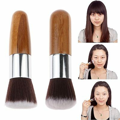 Bamboo Handle Makeup Brush Cosmetic Powder Foundation Brush Kabuki Make up Tool
