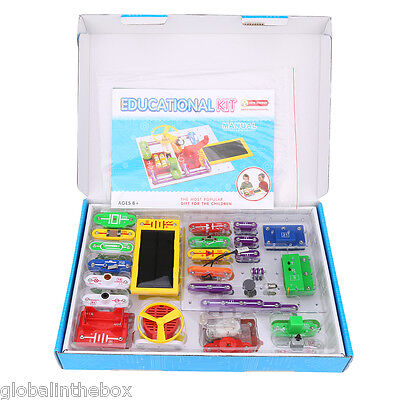 Kids Science Educational Learning Gift Snap circuits Electronics Discovery Kit