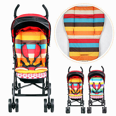 Waterproof Baby Kids Car Seat Liner Padding Pram Stroller Cushion Pad Enticing