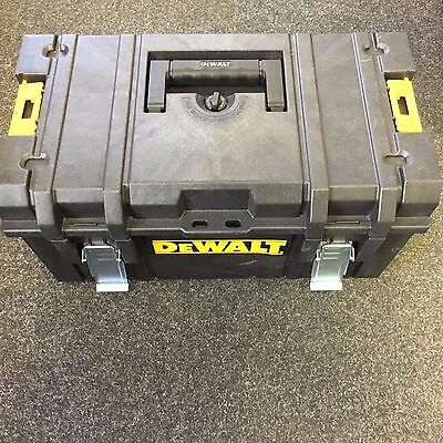 DeWalt DS300 Tough System Tool Storage Box + Foam Inlay For Charger and Drill