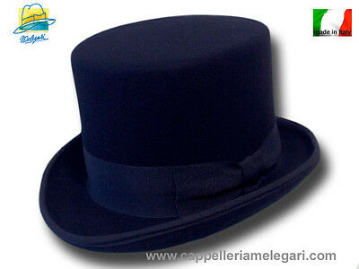 Cappello A Cilindro Blu Top Hat Zylinder Hut 3
