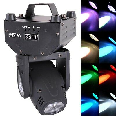 12W Cree LED RGBW 4in1 Beam Moving Head Light DMX DJ Disco Stage Party Lighting