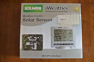 holman iweather weather station centre solar centre pc software wireless