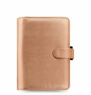 Filofax - Special Edition Personal Saffiano Rose Gold - Leather Look Organiser