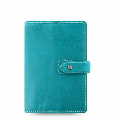 Filofax - Personal Malden Kingfisher Blue - Deluxe Buffalo Leather Organiser