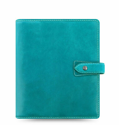 Filofax - A5 Malden Kingfisher Blue - Deluxe Buffalo Soft Leather Organiser