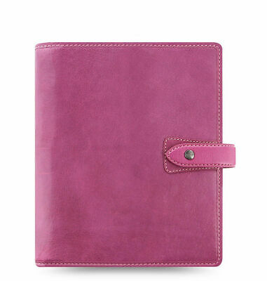 Filofax - A5 Malden Fuschia - Soft Deluxe Buffalo Leather Organiser