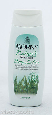 6 x Morny Nature's French Fern Body Lotion 200ml