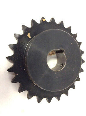 BROWNING H6024X 1 3/8 Finished Bore Roller Chain Sprocket Single Strand Steel
