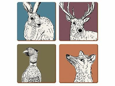 Creative Tops Into The Wild Premium Coasters � Set of 4