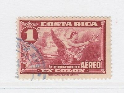 A2P50 COSTA RICA AIR POST STAMP 1934 1col USED